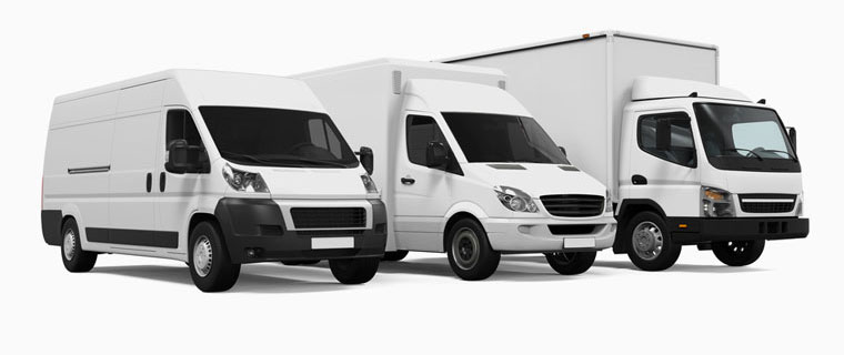 Different Sizes of Removal Vans